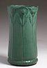 Weller Pottery Matte Green Umbrella Stand c1911