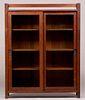 Harden Furniture Co Two Sliding-Door Bookcase c1910