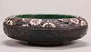 Frederick Rhead Carved & Enamel Decorated Bowl c1913-1917