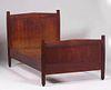 Gustav Stickley #912 Single Twin Bed c1910