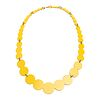 13pc Pearl Necklace in yellow
