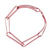 Long Link Side Chain in red