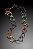 Abstract Rainbow Necklace