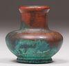 Clewell Copper-Clad Vase c1910