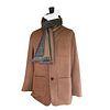 Cinnimon birds eye weave soft jacket