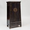Chinese Black Lacquer Cabinet