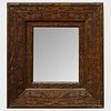 Continental Foliate Carved Wood Mirror