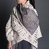 Crosscut Nomad Coat in Ecru + Silver