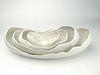 White Nesting Bowls