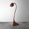 STACKED Walnut Floor Lamp