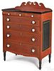 Soap Hollow painted chest of drawers