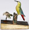 Pipsqueak toy with two birds, 19th c.