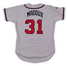 A Greg Maddux 1996 World Series Atlanta Braves Game Used / Issued Jersey,