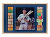 A Mickey Mantle World Series Home Run Complete Ticket Display,