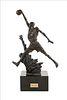 "A 1994 Michael Jordan United Center Bronze Maquette, ""The Spirit,"""