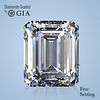 1.80 ct, Color D/VVS1, Emerald cut Diamond
