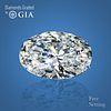 11.31 ct, Color D/VVS1, Oval cut Diamond