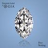 3.03 ct, Color D/FL, Marquise cut Diamond