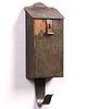 Harry Dixon Hammered Copper Mail Box c1925-1930