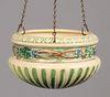 Roseville Corinthian Hanging Basket c1920s