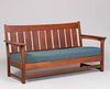 Lifetime Puritan Bench Settle c1915