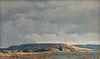 Robert Knudson  (American, 1929-1989) Summer Skies