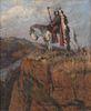 Oscar Berninghaus  (American, 1874-1952) Back from the Hills,1907