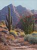Linda Lee Kinman (American, 1950-2014) Granite Pass Aglow