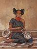 Hubert Wackermann (American, b. 1945) Hopi Maiden, 1981