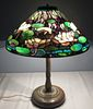 Bronze Table Lamp With Base Signed Tiffany Studios