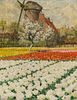 George Hitchcock Double White Tulips