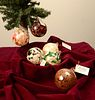JOHN & JENNIE ELIAS (ELIAS STUDIOS), Mini Round Ornaments