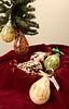 JOHN & JENNIE ELIAS (ELIAS STUDIOS), Teardrop Ornaments
