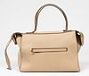 Celine Bullhide Leather Ring Handbag / Purse