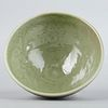 Modern Chinese Ming Longquan Style Celadon Bowl