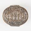 19th c. Islamic Silver Snuff Box