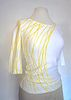 """""""Crackle"""" Couched Stretch Top (SIZE S)"""