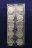 10 Uncirculated Canadian Silver Dollars
