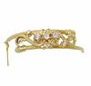 Fine Quality Vintage 18k Yellow Gold Diamond Bangl