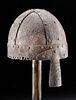Rare 6th C. Anglo-Saxon Iron Helmet w/ Nose Guard