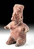 Jalisco Pottery Seated Female Figure