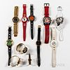 Group of Fashion Wristwatches