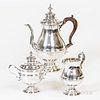 Three-piece Sterling Silver Coffee Set