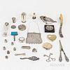 Group of Silver Vanity Items