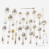 Group of English Sterling Silver Flatware