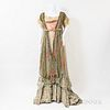 French Art Nouveau Silk Gown