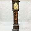 James Duff Japanned Tall Case Clock