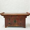 Chinese Painted Wood Altar Table