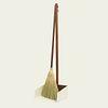 Walnut Stand Dustpan and Lobby Broom Set