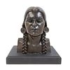 Adrien Alexandre Voisin (American, 1890-1979)Nez Perce Squaw, edition 9/15, 1936